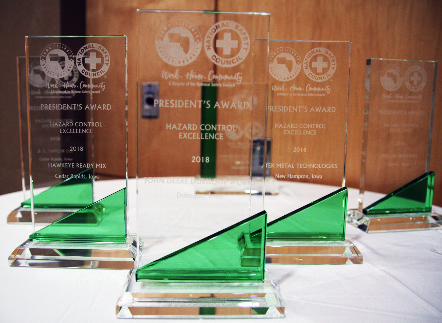 Companies Receive President's Award at IISC's 2019 Annual Awards Luncheon